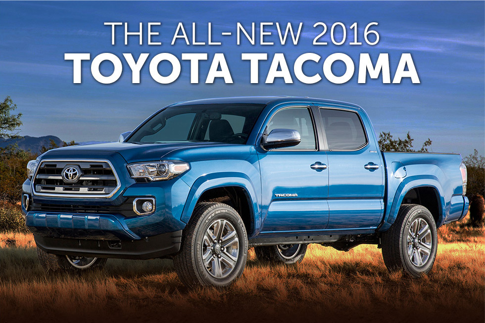 All-New 2016 Tacoma