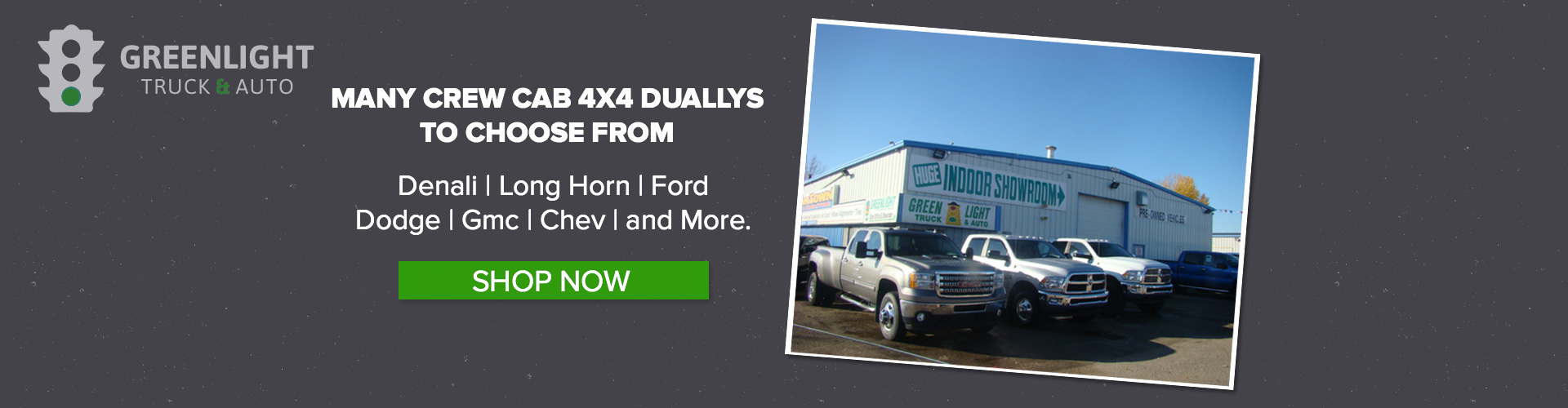 Image of 4x4 Dually vehicles
