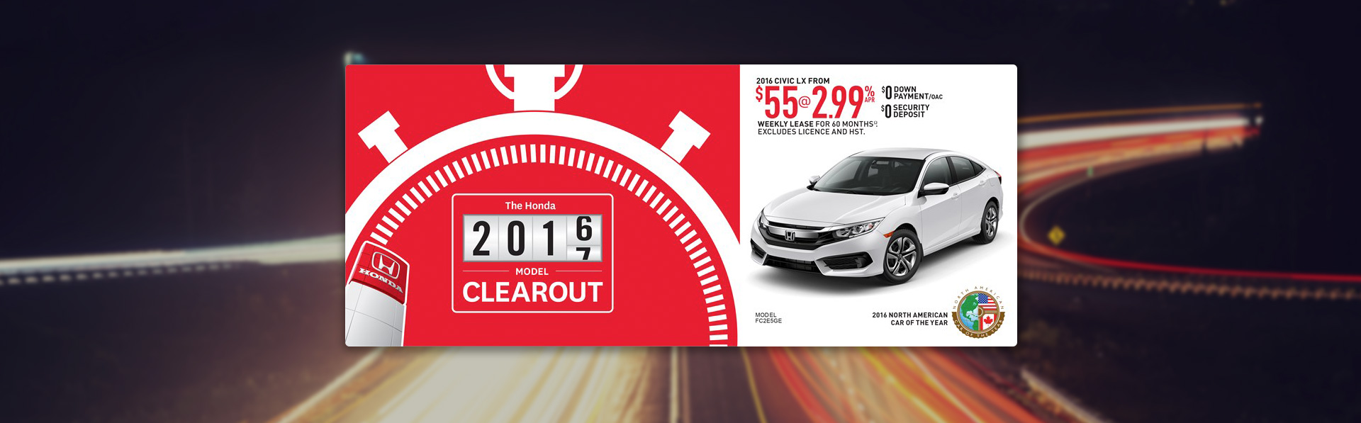 Honda Civic - September Incentive