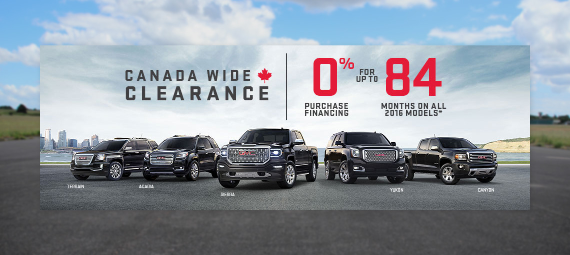 July OEM - GMC Incentive