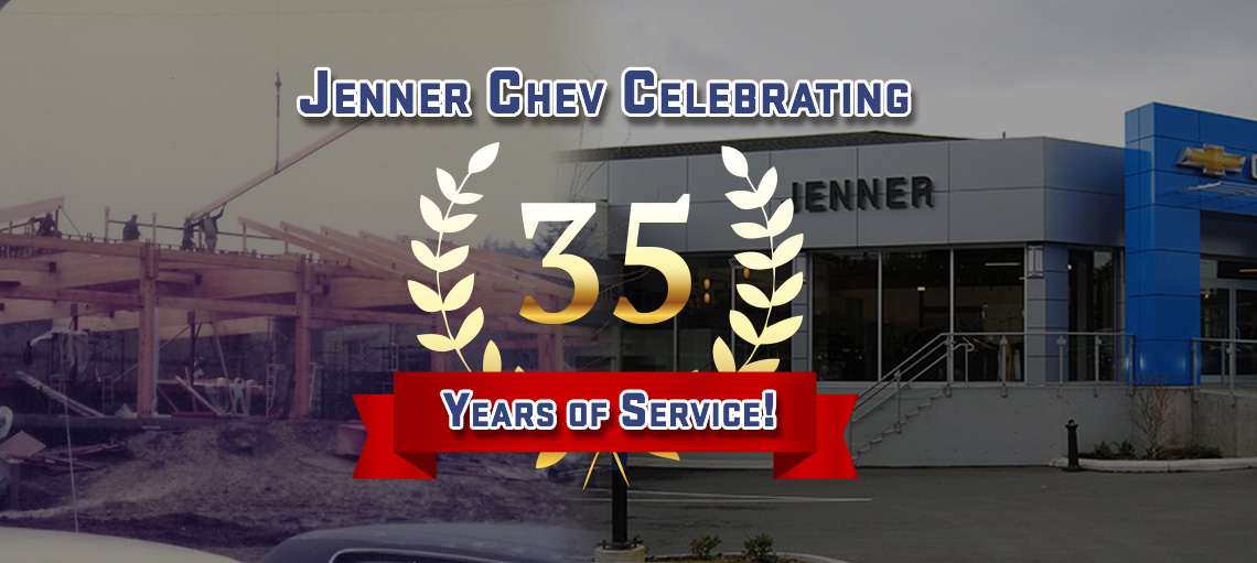 Celebrating 35 Years with Jenner Chev