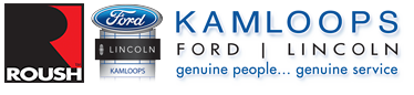 Kamloops Ford Logo with Roush