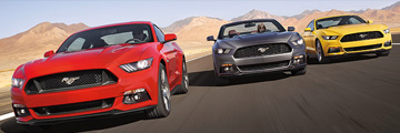 New Ford Mustang models