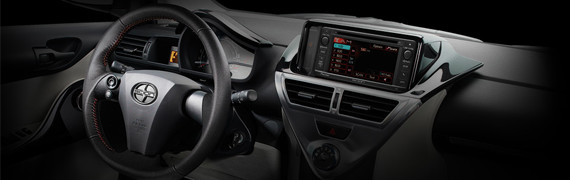 2015 Scion iQ interior technology and styling