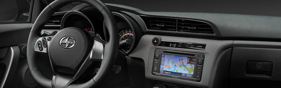 2015 Scion tC interior style and technology