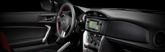 2015 Scion FR-S interior style and technology