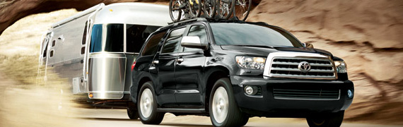 2017 Toyota Sequoia Towing at Mayfield Toyota in Edmonton, AB