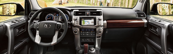 2016 Toyota 4Runner interior features and design at Mayfield Toyota in Edmonton, AB