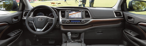 2015 Toyota Highlander Interior Features and Comfort