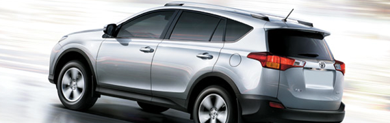 2015 Toyota Rav4 Exterior Features