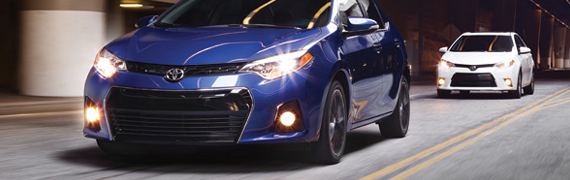 2015 Toyota Corolla exterior style and technology at Mayfield Toyota