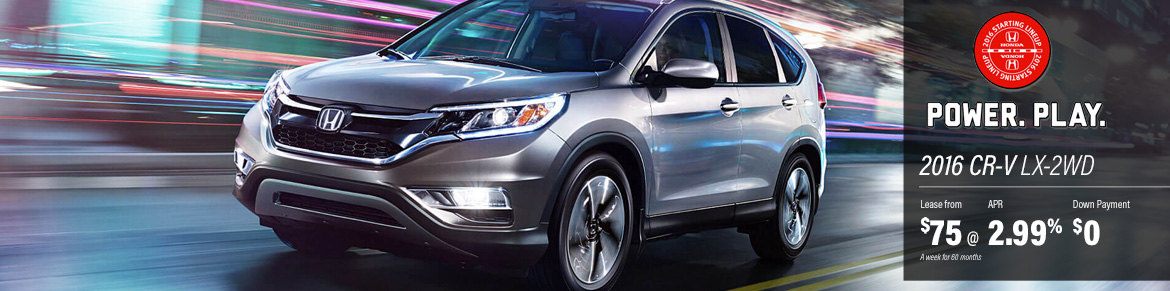 2016 Honda CR-V Deal - Feb Incentive