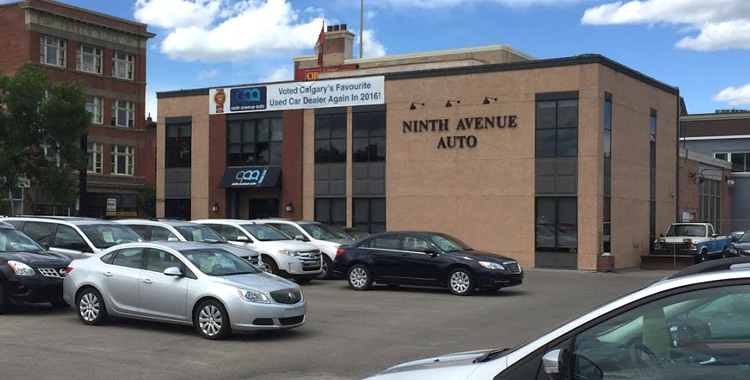 Ninth Avenue Auto dealership building