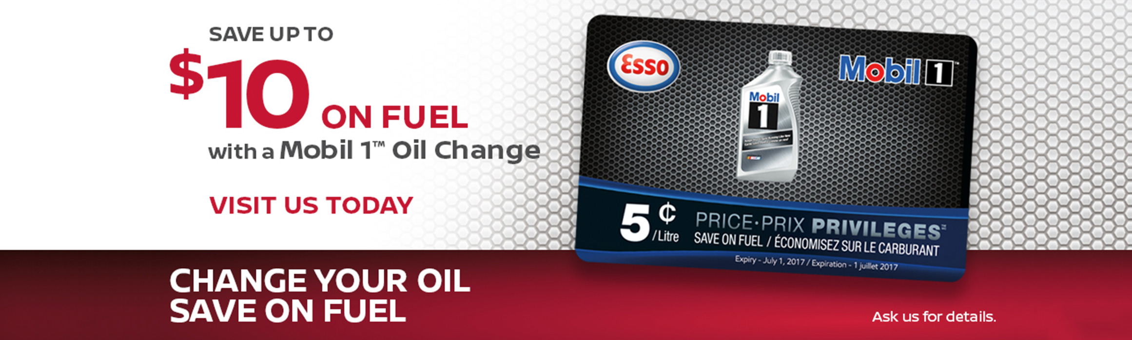 Save up to $10 on Fuel