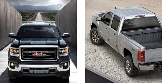GMC Sierra truck models available at The Original Applewood Motors in Langley BC