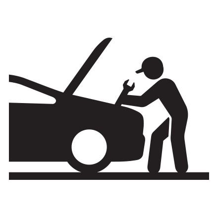Maintenance servicing icon