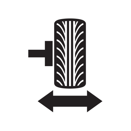 Tire rotation icon