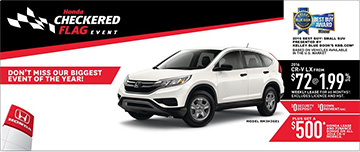 June Honda CR-V Promotion