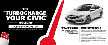 July Honda Civic Promotion