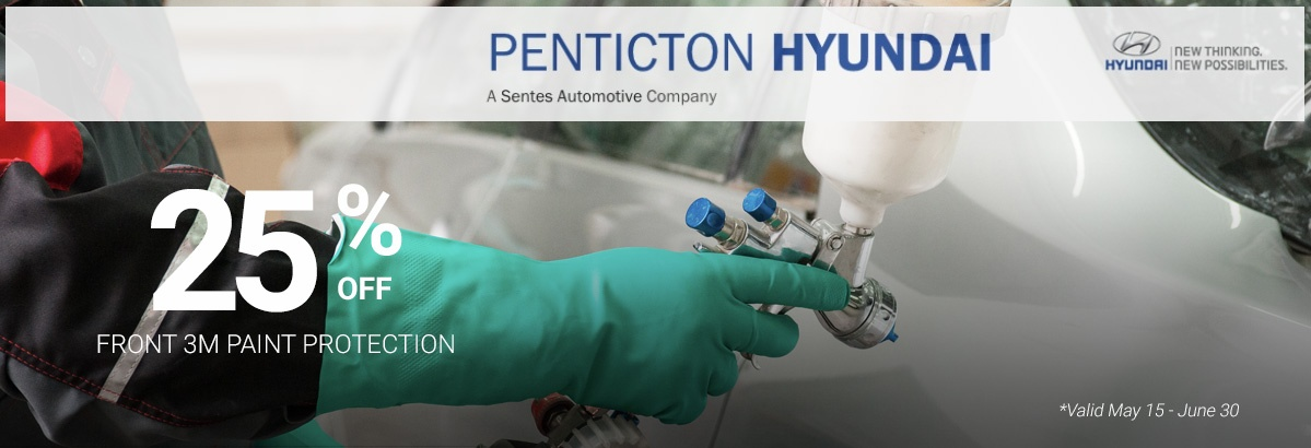 3M Paint Protection Special at Penticton Hyundai