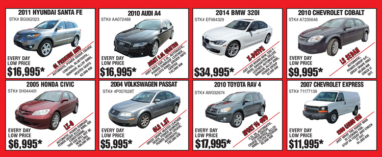 Save at Progressive Auto with Weekly Sales | Sarnia ON