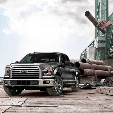 Legendary Ford F-150 Exterior Hauling at River City Ford, Winnipeg, MB
