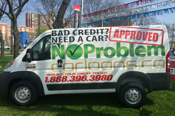 Get approved credit van