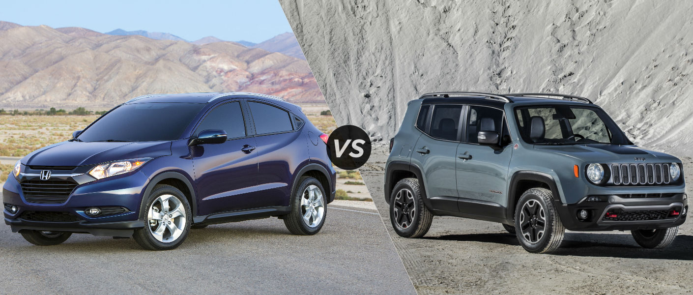 2016 honda hrv vs 2015 jeep renegade. Black Bedroom Furniture Sets. Home Design Ideas