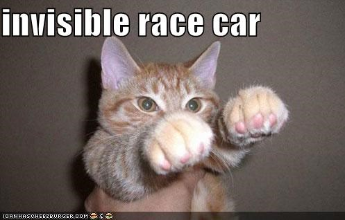 Invisible RaceCar Meme