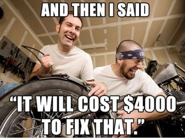 Scumbag Mechanic Meme