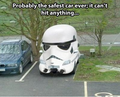 Storm Trooper Car Meme