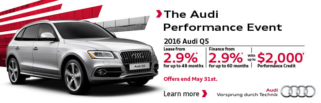 May Audi Q5 Offer