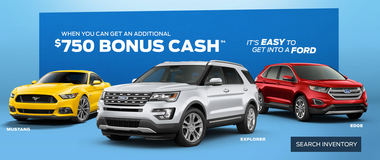 Spruceland Ford May 2016 Specials