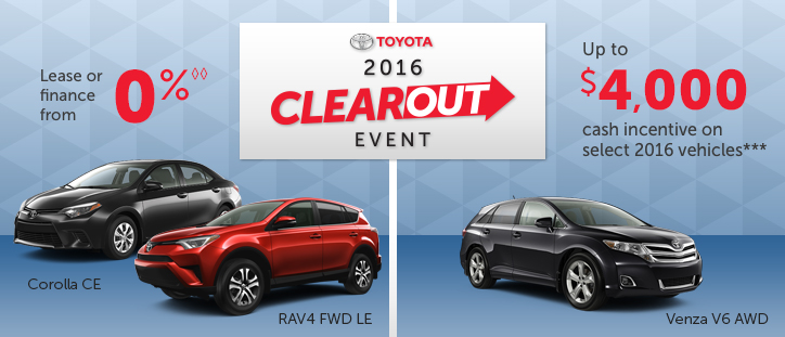 2016 Toyota Factory Event
