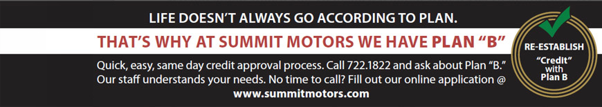 Get Financing for a new Vehicle at Summit Motors in St. John's, Newfoundland