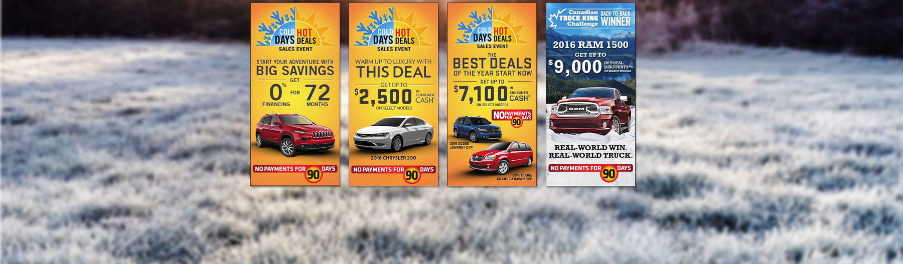 Superior Chrysler Special Offers