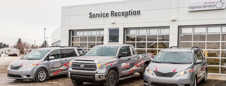 service your vehicle at toyota on the trail