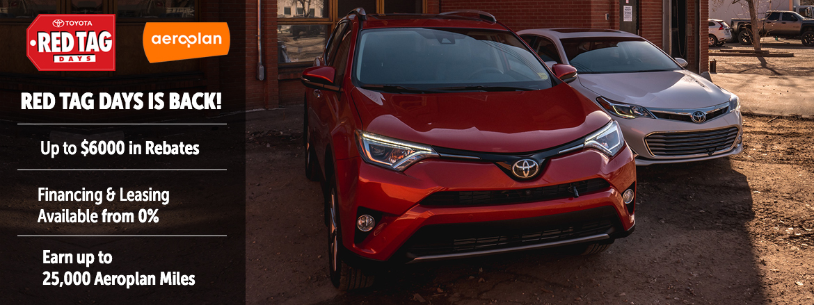 Toyota on the Trail | April Incentive