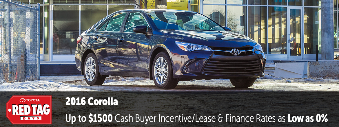 Toyota on the Trail | Corolla April Incentive