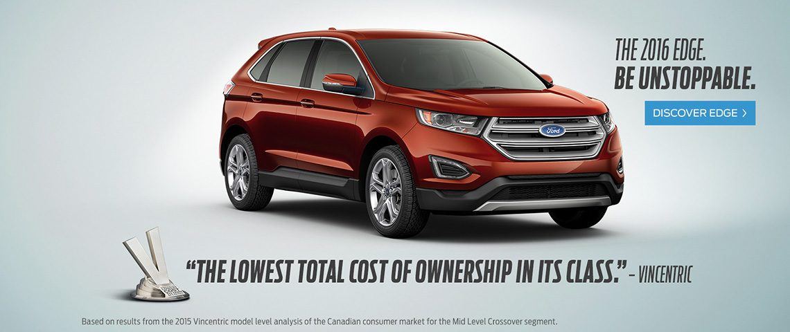 2016 Ford Edge - Be Unstoppable - Windsor Ford, Grand Prairie, AB