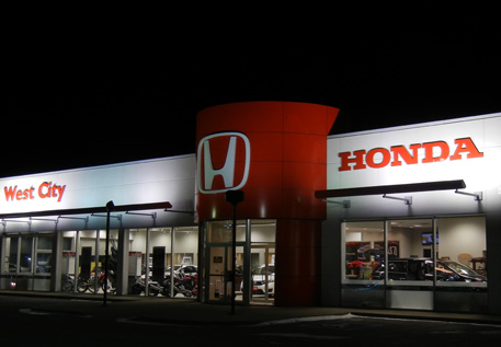West City Honda Dealership building