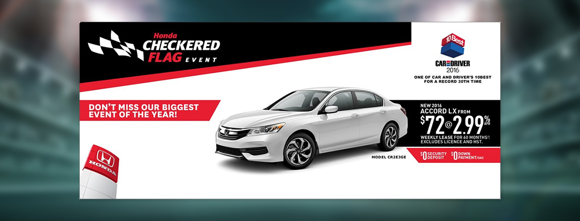 June OEM Deals - Honda Accord