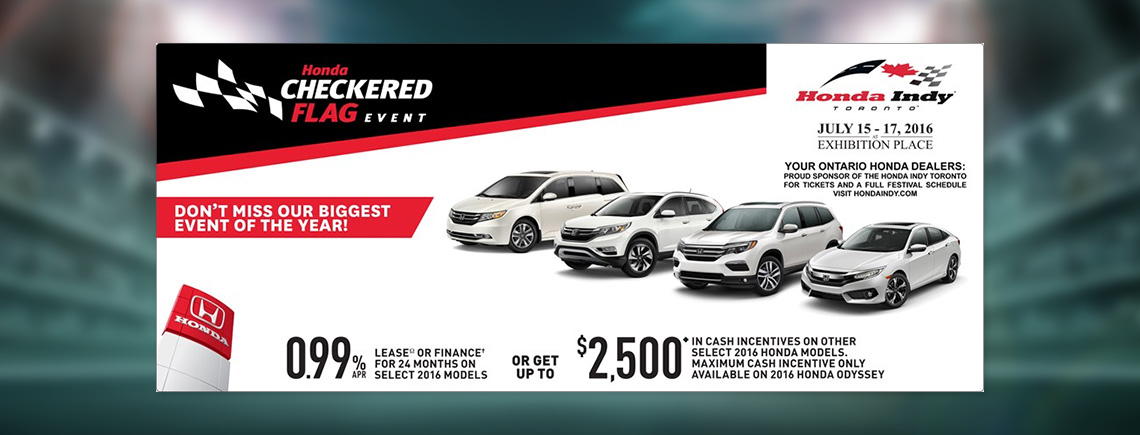 June OEM Deals - Honda General