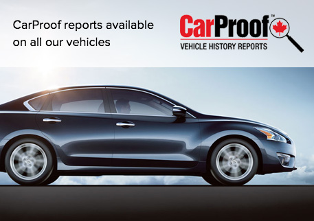 Carproof reports available