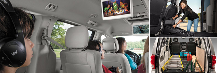 2015 Dodge Grand Caravan interior storage space
