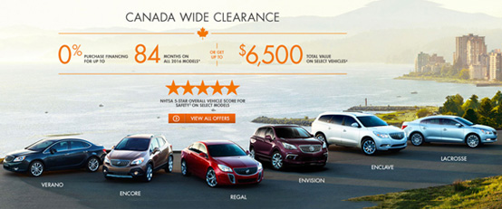 August Buick Offer
