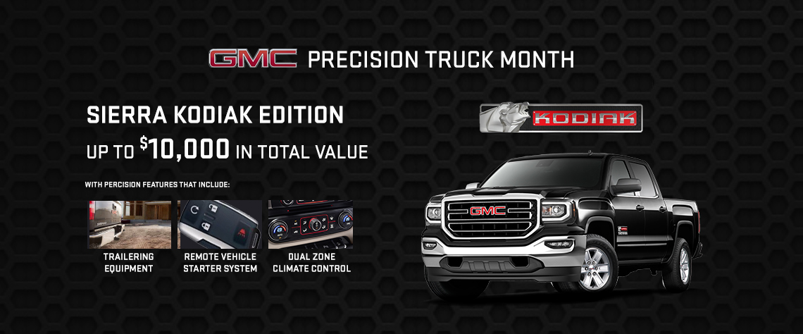 March GMC Offer