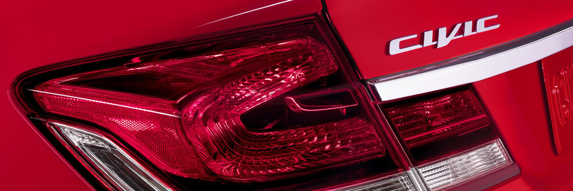 2015 Honda Civic rear taillight