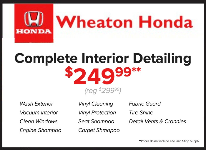 Automotive service specials in edmonton ab wheaton honda for Honda oil change printable coupon
