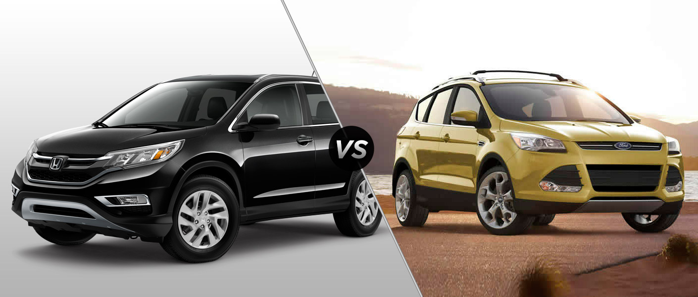 2015 honda cr v vs 2015 ford escape. Black Bedroom Furniture Sets. Home Design Ideas